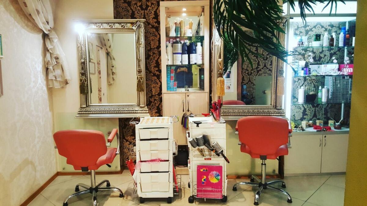 Зал парикмахерская 2